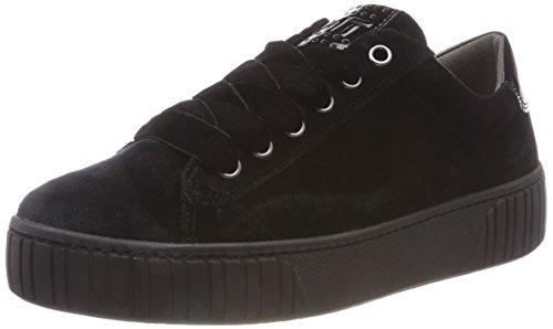 MARCO TOZZI Damen 2-2-23722-31 048 Sneaker, Schwarz (Black Velvet), 36 EU Black Velvet Sneakers