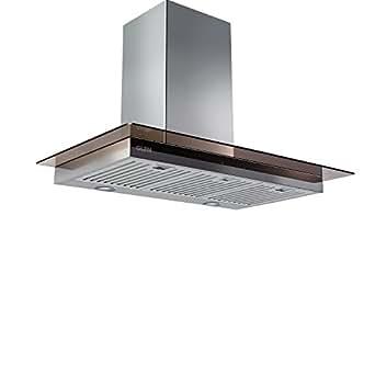 Glen 60cm 750m3/hr Chimney(CH6062SXTS60BFLTW, Baffle filter, Colour:Shining Silver)