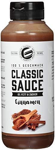 Got7 Classic Sauce Soße Salatsoße Grillsoße Perfekt Zur Diät Abnehmen Fitness Bodybuilding 265ml (Zimt) -