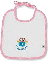 Adelheid Baby - Mädchen Halstuch Kleine Eule Babylätzchen, Gepunktet