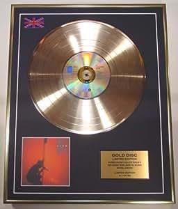 U2/EDITION LIMITEE/CADRE DISQUE D'OR CD ET VINYLE/'Under A Blood Red Sky'/(U2)