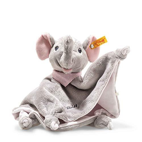 Steiff 241680 Trampili Elefant Schmusetuch2, grau