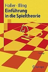 Einfuhrung in die Spieltheorie (Springer-Lehrbuch) (German Edition)