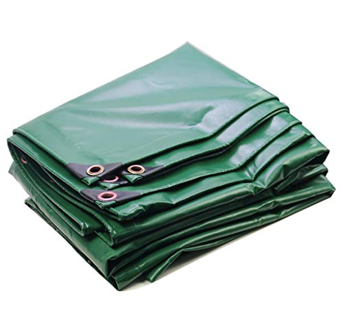 Grüne wasserdichte Stoffplane PVC-Beschichtung regendicht UV-Schutz Verschiedene Größen Sonnenschutzabdeckung