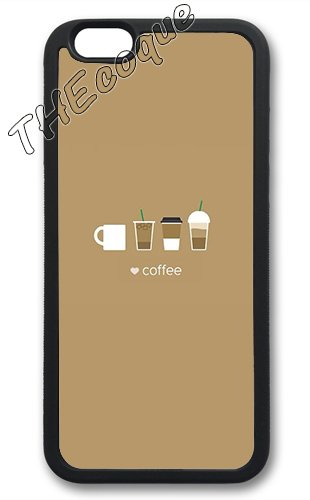 Coque silicone BUMPER souple IPHONE 5/5s - Cafe coffee pause motif 2 DESIGN case+ Film de protection OFFERT 1