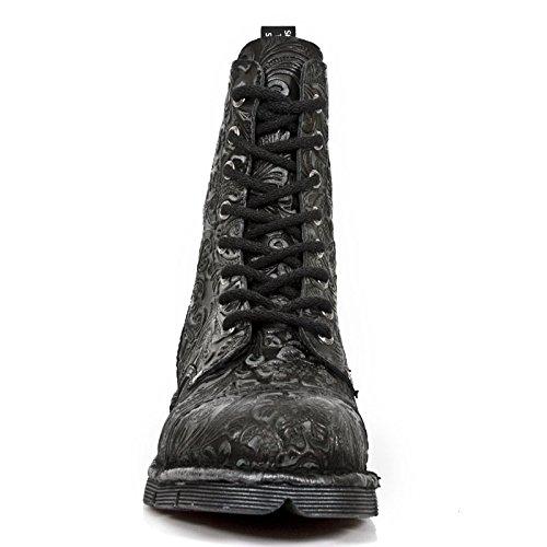 New Rock M Newmili083 S7, Unisex-Erwachsene Stiefel Schwarz (Noir)