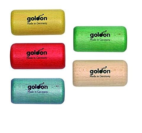 Goldon - 33768–Clé Mini Shaker en bois de hêtre avec