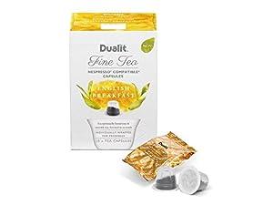 Dualit Fine Tea Nespresso Compatible Capsules Engish Breakfast Pack Of 40