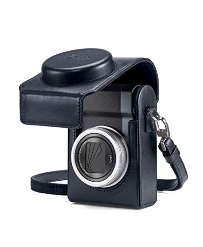 Case C-LUX, leather, blue - Kamera-tasche Leica