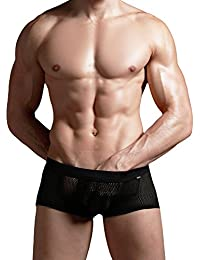 xuba Sexy Boxer Short boxer Hipster Europe. de réseau Noir