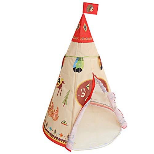louiseevel215 tende di stoffa tradizionali portatili pieghevoli giocattolo di cartone animato sport all'aria aperta gioco per il tempo libero gioco tenda per bambini in casa