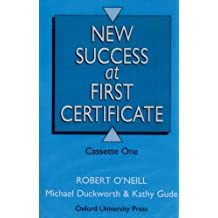 New Success at First Certificate: Success at First Certificate: Cassette (2) 3rd Edition: Class Cassettes