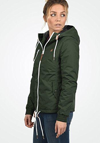 DESIRES Tilda Damen Kapuzenjacke Übergangsjacke aus hochwertigem Material Climb Ivy (3785)