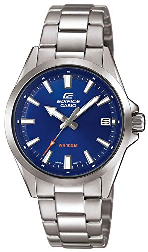 Casio Mens Analogue Quartz Watch with Stainless Steel Strap EFV-110D-2AVUEF Best Price and Cheapest