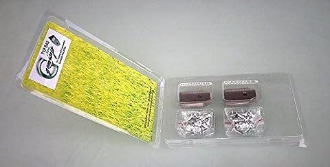 30 Messer (0,75mm) & Schrauben für Husqvarna Automower & Gardena R40Li/R70Li in praktischer Aufbewahrungsbox