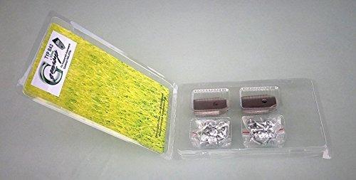 genisys 30 Messer (0,75mm) & Schrauben für Husqvarna Automower & Gardena R40Li/R70Li in praktischer Aufbewahrungsbox