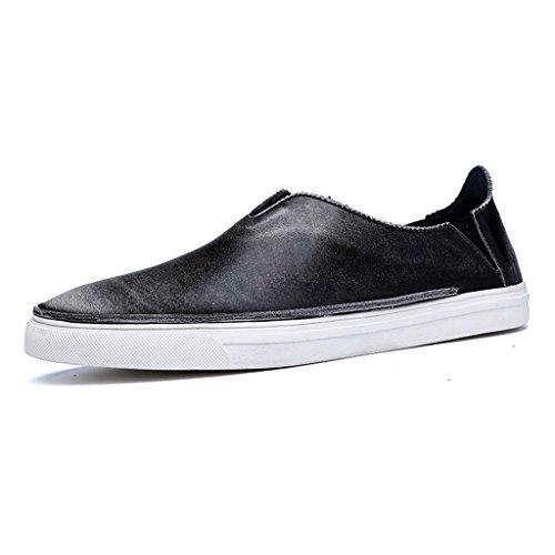 ZXCV Scarpe all'aperto Scarpe traspiranti semplici casuali degli uomini calza scarpe Grigio