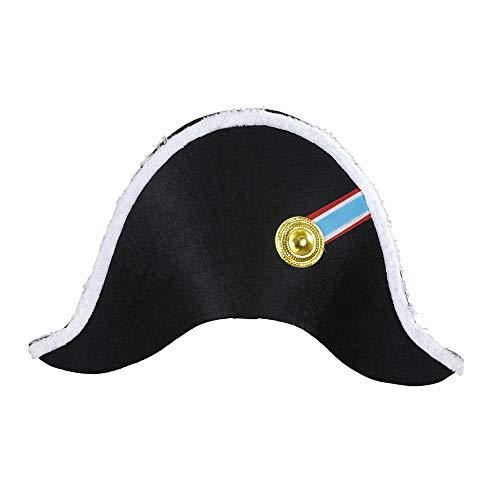 Widmann 01126 Hut Napoleon, für Erwachsene, (Für Erwachsene Napoleon Kostüm)