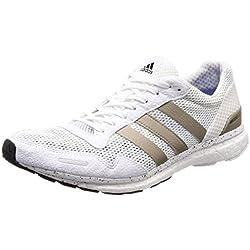 adidas Adizero Adios, Zapatillas de Running para Hombre, Blanco (Ftwwht/Cybemt/Cblack), 42 EU