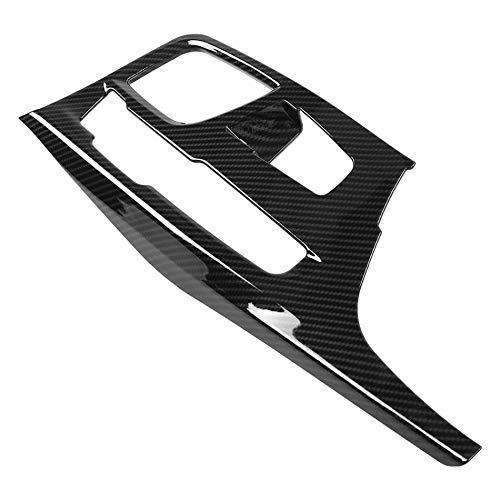 Preisvergleich Produktbild CUHAWUDBA Kohle Faser Stil Abs Kunststoff Auto Mittel Konsole Getriebe Schalt Tafel Abdeckung Trim Für 5 Serie 2017-2018