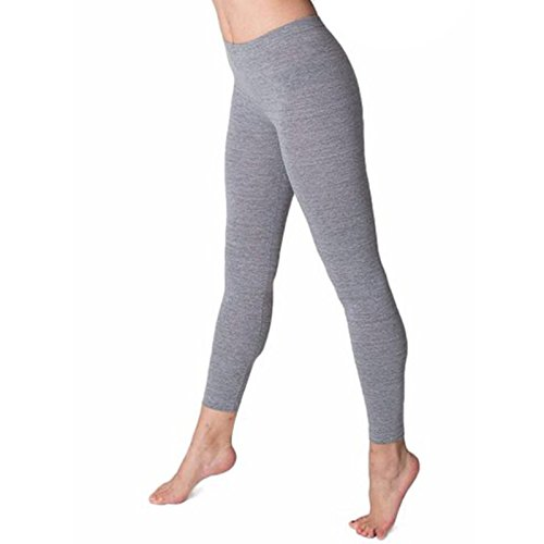 American Apparel Damen Leggings Gr. XL, grau meliert (Knit Skirt Flare)