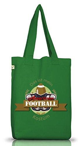 Football Americano Kostüm Für Nfl Fan Del Superbowl Verde Muschio