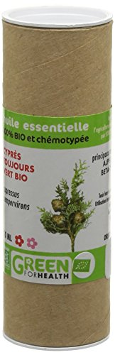 Green For Health Huile Essentielle de Cyprès Bio Flacon de 10 ml