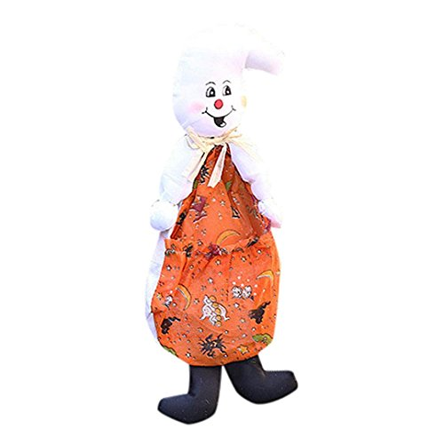 Hirolan Halloween Puppe Ornaments Kinder Geschenke Szene Dekoration Hexe Kürbis Geist Ornaments (Schwarz Up Light Tutu)