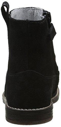 Minibel Luisa, Bottes Classiques Fille Noir (67 Noir/Noir Argent)