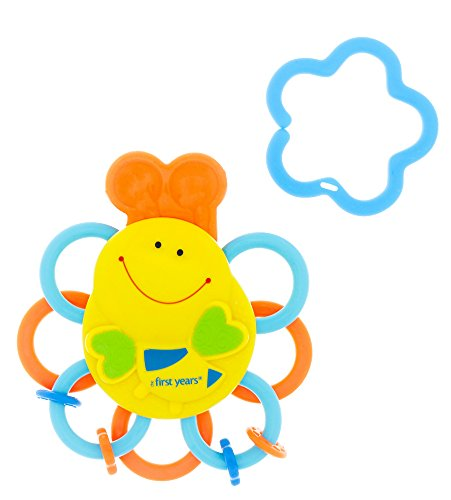 the-first-years-buzzing-bee-massaging-teether-pink-yellow