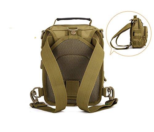 Un pacchetto ha quattro tipi di utilizzo, zaino da viaggio, borsa a tracolla, borsa Messenger, borsa per campeggio, viaggi, escursioni (grandi, piccole) B
