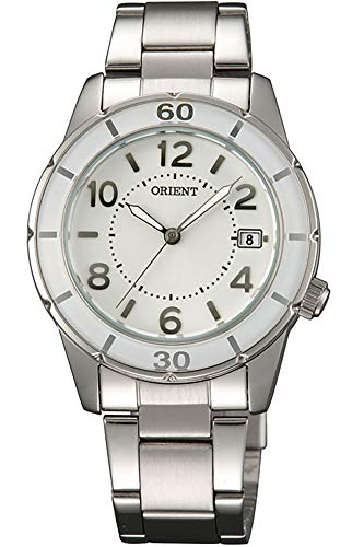Orient Womens Analogue Quartz Watch with Stainless Steel Strap FUNF0001W0