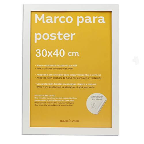 Nacnic Marco Blanco para Fotos
