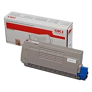OKI 44318606 Cartouche de toner pour C710, C711 Magenta