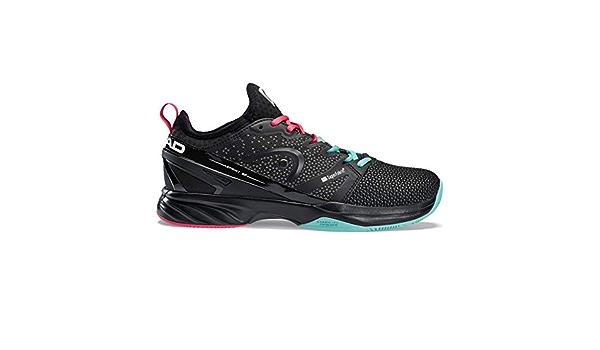 Bleu Petrol HEAD Hommes Sprint SF Clay Chaussures De Tennis Chaussure Terre Battue Noir