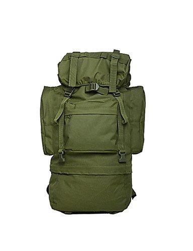 HWB/ 65 L Wandern Tagesrucksäcke / Rucksack Camping & Wandern / Reisen / Survial / Radsport Outdoor / LeistungWasserdicht / Schnell Camouflage
