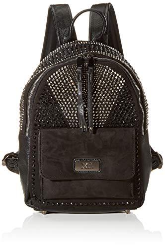 XTI 86144, Bolso mochila para Mujer, Negro (Negro), 26x33x12 cm (W x H x L)