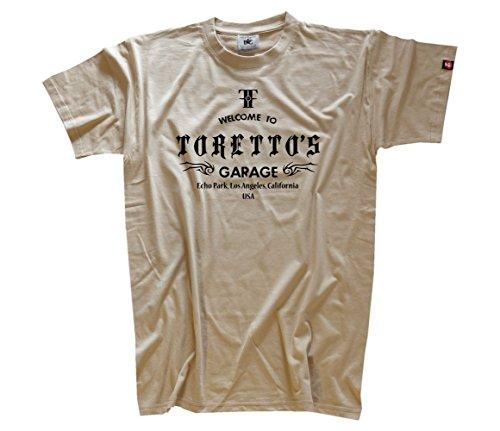 Famous Movie - Torretos Garage T-Shirt Beige XXL