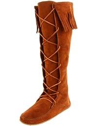 Minnetonka Front Knee Hi, Bottes Indiennes Femme