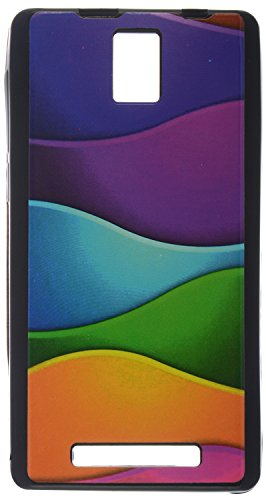iCandy UV Printed Matte Finish Soft Back cover for XOLO Era -COLORWAVE  available at amazon for Rs.119