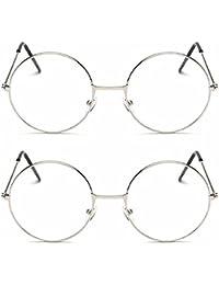 5e8c6c0a6e9 Criba Gradient Butterfly Unisex Sunglasses - (round slvr clr+slvr  clr CRLK08