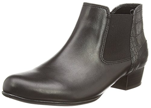 Gabor - Andorra, Stivaletti Donna Nero (Nero (Black Leather))