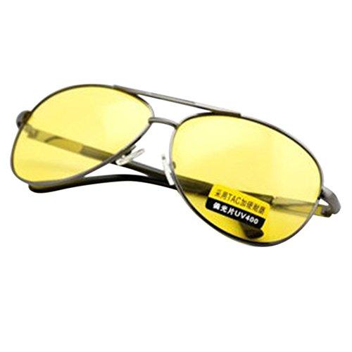 Zantec Sonnenbrille Nachtsicht Outdoor-fahrbrille, Männer UV 400 Polarisierte Blendschutz Licht Gewicht Durable Tragbare