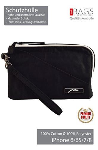 37d5d117295 Golla Case-Bag Swoosie     Top Premium     for iPhone  X 8 7 6S 6 SE 5 5C 5S 4 4S Size  160x100x10 mm! Mobile Bag! Eternal  Classics! (Swoosie Black)