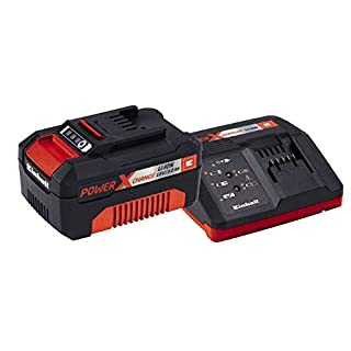 Einhell Power X Change Starter Kit 18v Lithium Ion 3.0ah Battery & Fast Charger