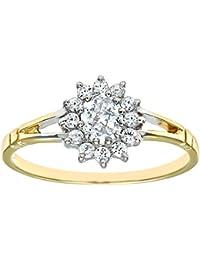 Citerna Damen-Ring Bicolor Zirkonia - Größe 56 (17.8)