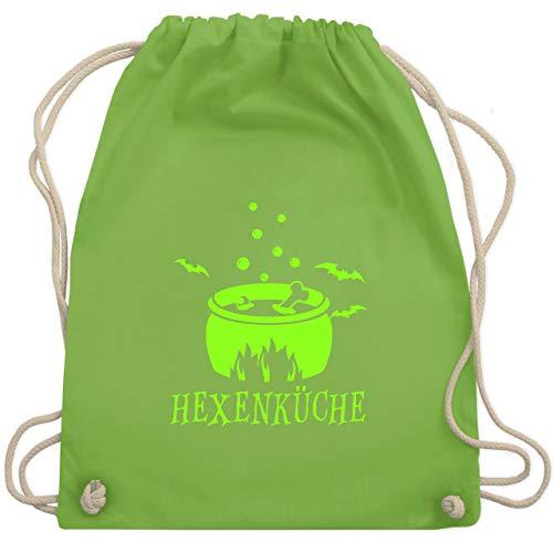 (Halloween - Hexenküche - Unisize - Hellgrün - WM110 - Turnbeutel & Gym Bag)
