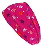 Wollhuhn ÖKO Damen/Mädchen Süßes elastisches DRAGON STARS TWIST Haarband/Stirnband, gedreht pink/rosa 20190008