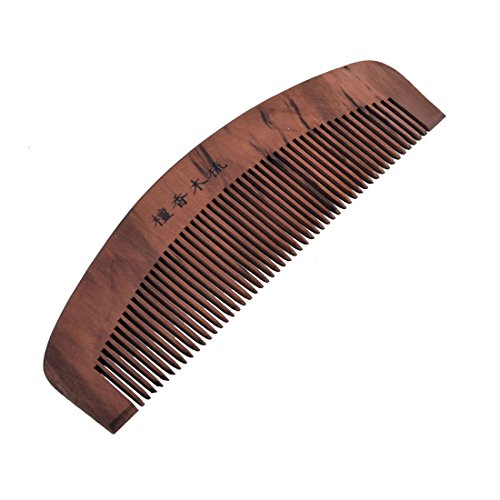 sourcingmap ® Tragbar Palisanderholz Haarpflege Sandal Holzkamm Taschekamm Kamm 6 Lang de