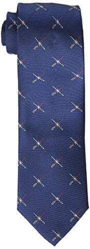Star Wars Men's Lightsaber Duel Tie, Navy, One Size